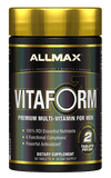 Allmax Vitaform Premium Multi-Vitamin For Men, 60 Tablets-30 Day Supply