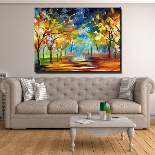 Autumn Breeze Canvas