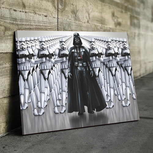 Black Vaders Army Canvas