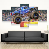 Blue Thunder Canvas