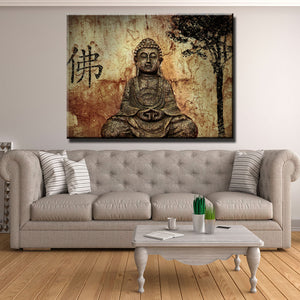 Buddha Peace of Mind Canvas