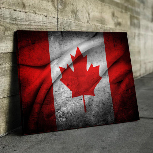 Canada Flag Canvas