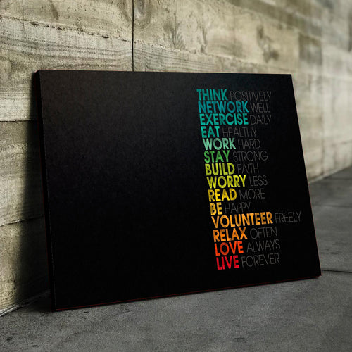 Colorful Lifestyle Canvas