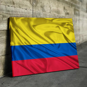 Columbia Flag Canvas