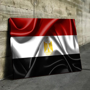 Egypt Flag Canvas
