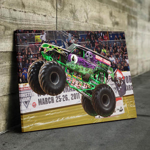 Grave Digger Canvas
