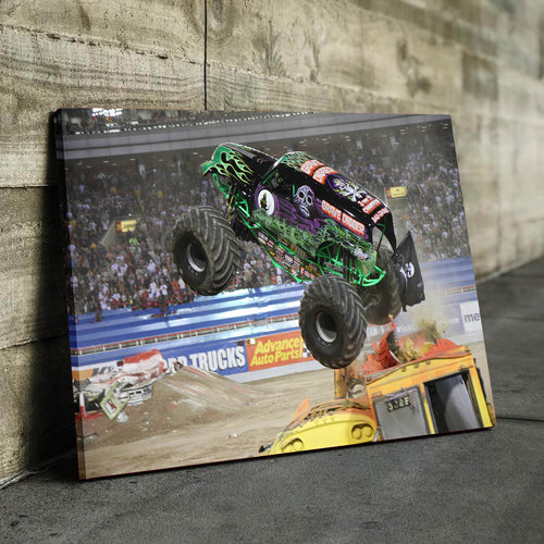 Grave Digger Airborne Canvas