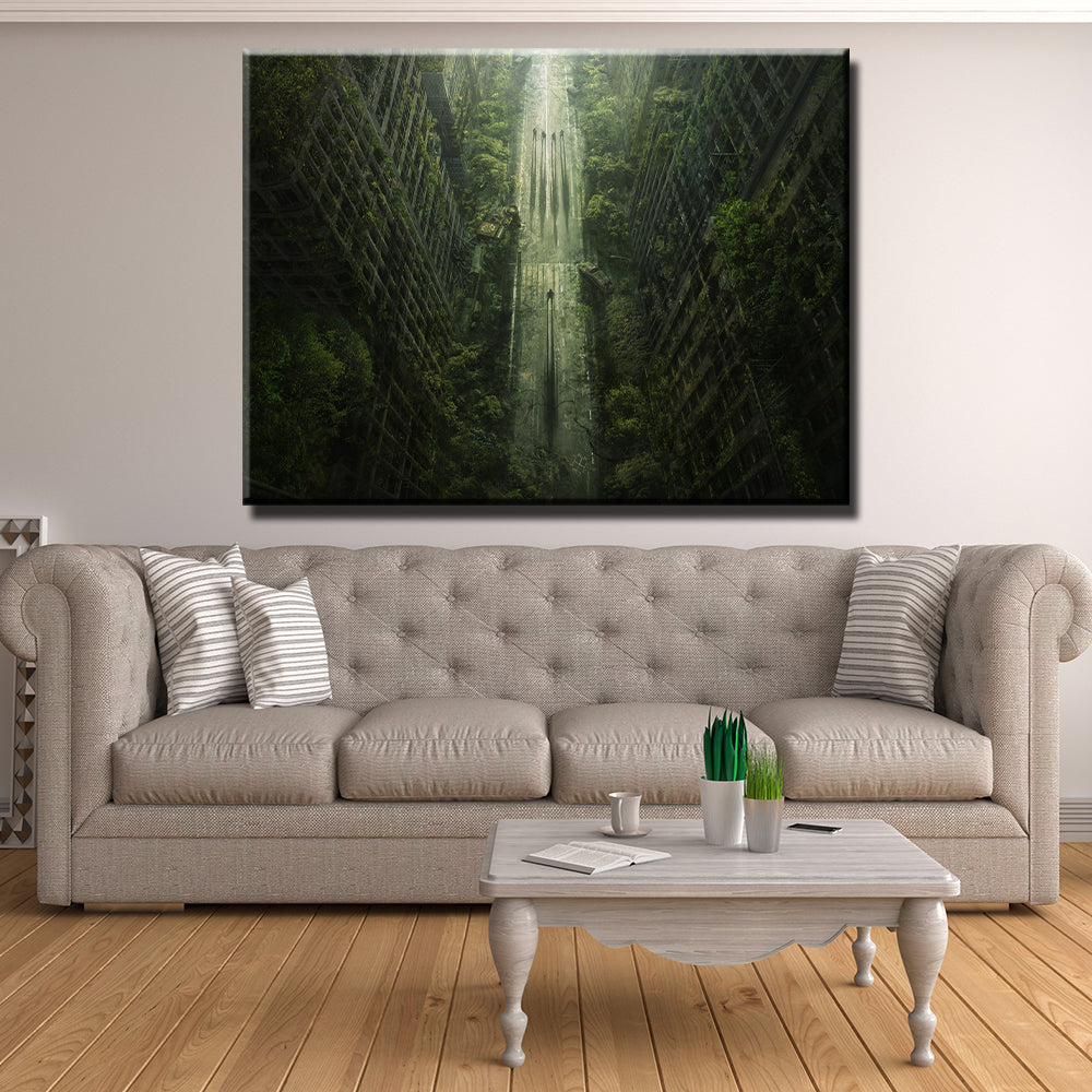 Jungle City Canvas
