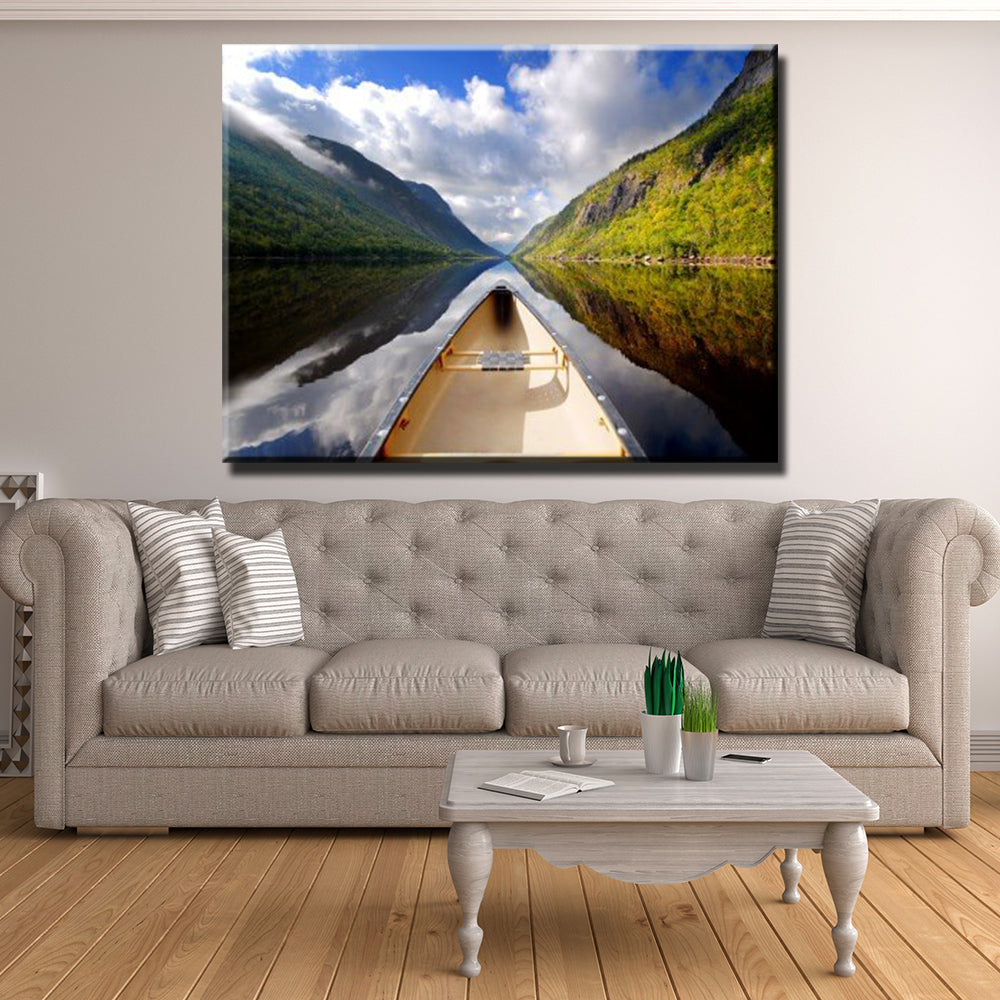 Peace on the Lake Canvas