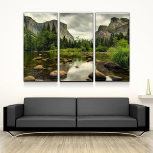 Natures Mountain View Canvas
