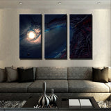 The City of Space Canvas