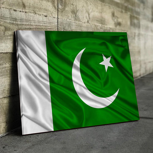 Pakistan Flag Canvas
