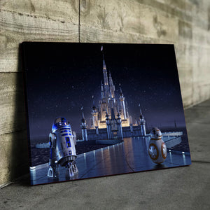 Road to the Castle Canvas
