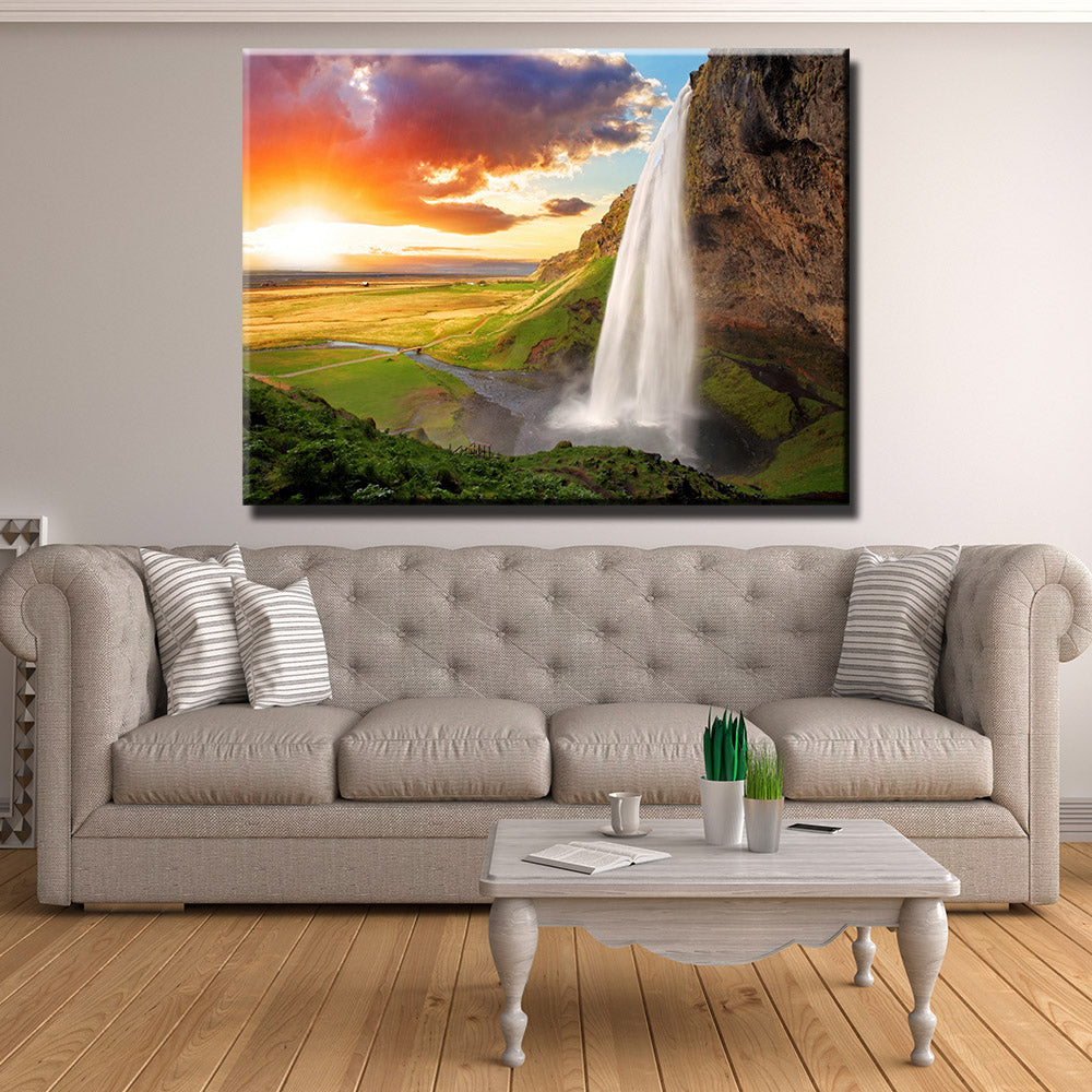 Waterfall Oasis Canvas