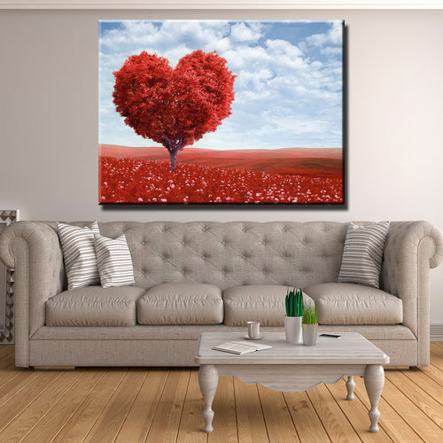 Heart of the Tree Canvas