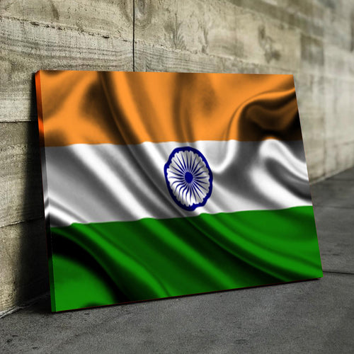 India Flag Canvas