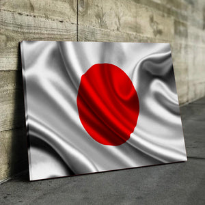Japan Flag Canvas