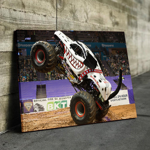 Monster Mutt Dalmatian Canvas
