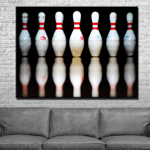 Bowling Pins Canvas