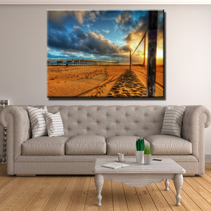 Beach Volleyball Canvas