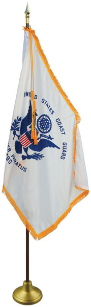 Coast Guard W/ Pole Hem & Fringe