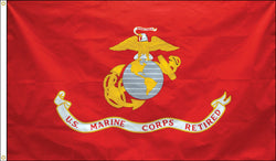Marine Corps Retired Flag