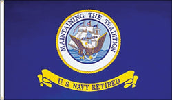 Navy Retired Flag