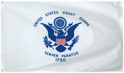 Outdoor Coast Guard Flag