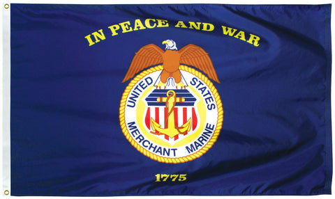 Outdoor Merchant Marine Flag