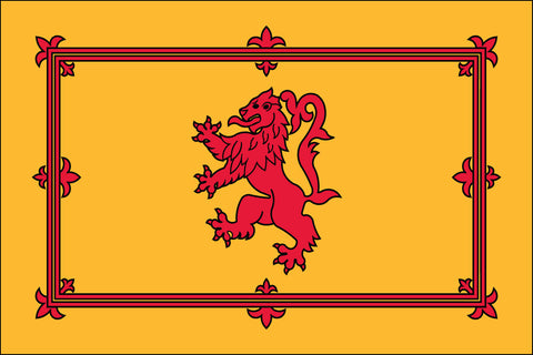Scotland (With Lion) Flag
