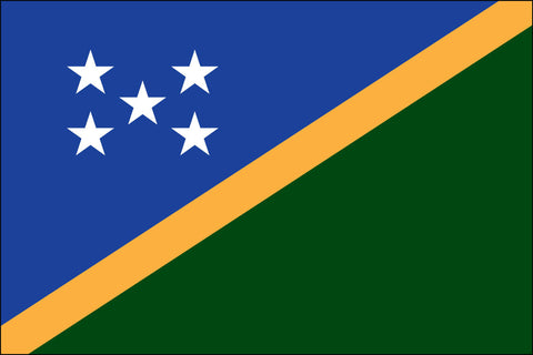 Soloman Islands (UN) Flag