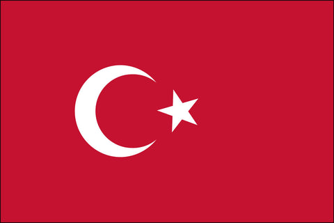Turkey (UN) Flag