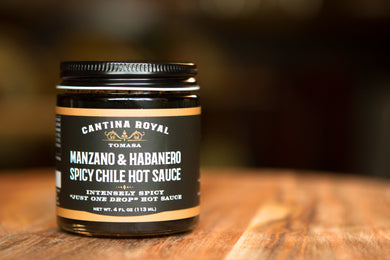 Manzano & Habanero Spicy Chile Hot Sauce