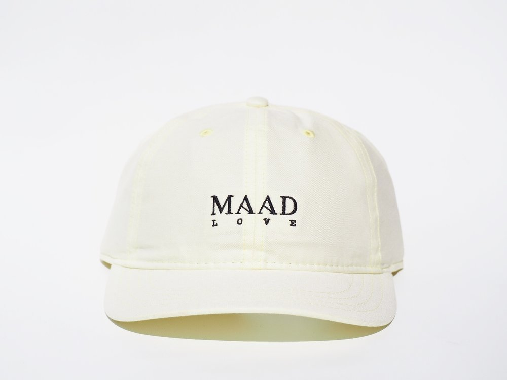 Dad's hat - Soft Yellow - Light 6 panel