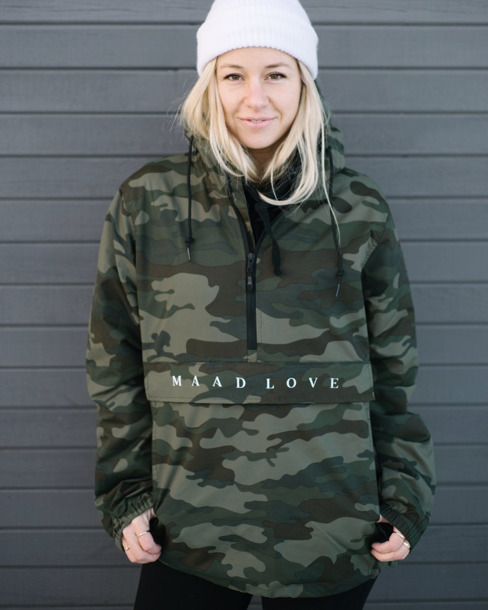 Camo | ML Windbreaker Anorak