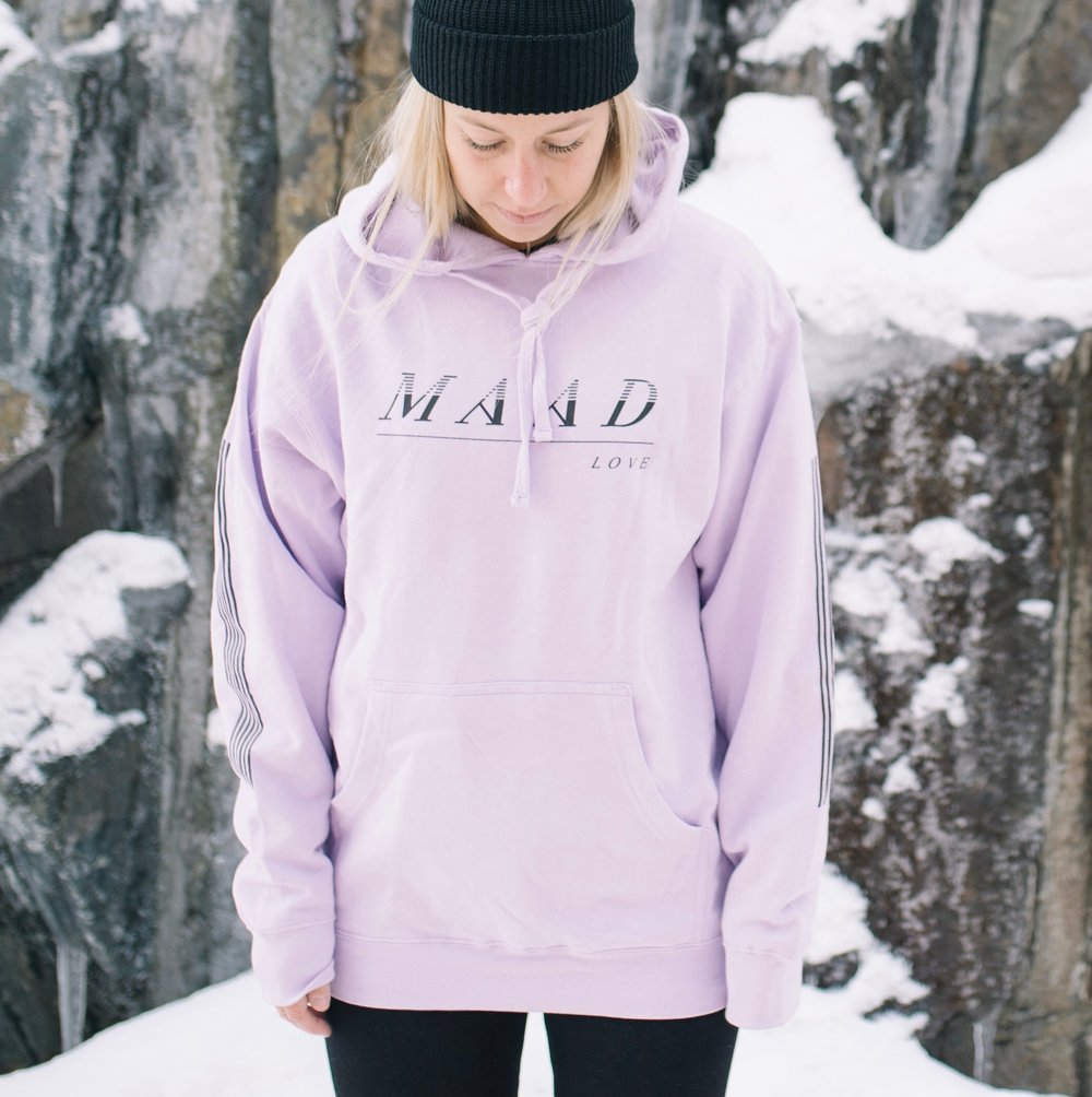 Soft Purp | VS Maad Love Pullover