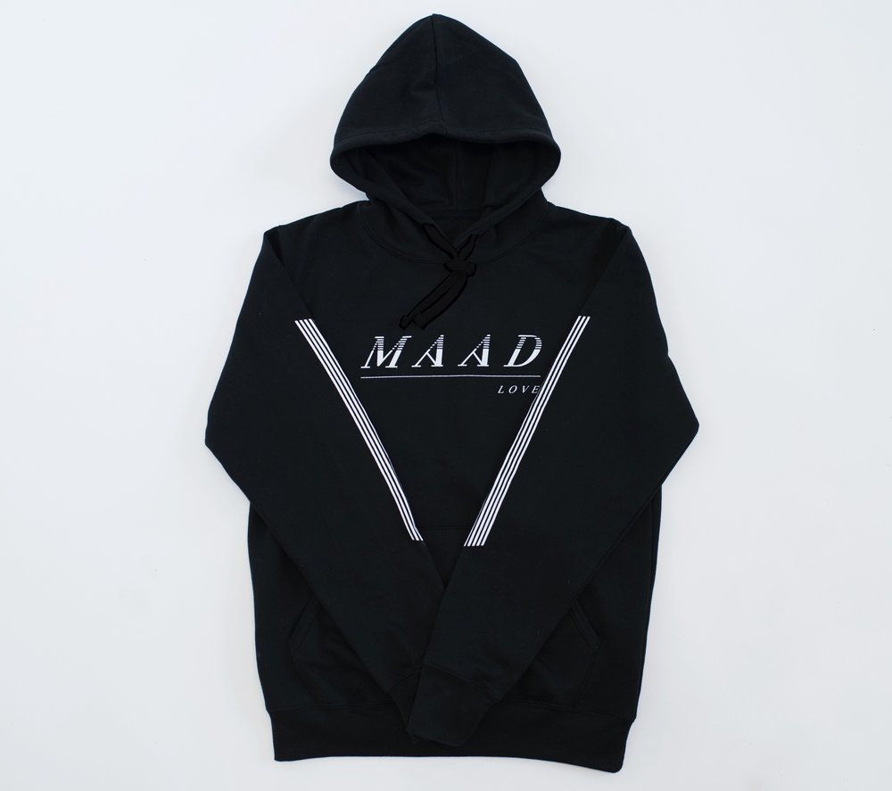 Black | VS Maad Love Pullover