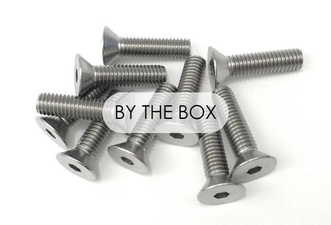 Stainless Steel Flat Head Bolts (Bulk)