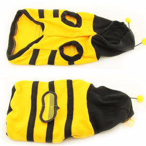Cat Bumble Bee Wings Fleece Hoody Coat