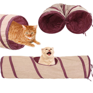 Cat Lovely Crinkly Kitten Tunnel Toy