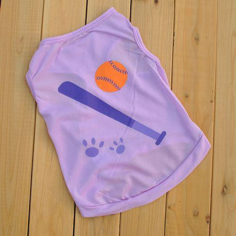 The new Pet clothes cats vest Summer Cool T-shirt