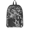 Gray Camo Backpack