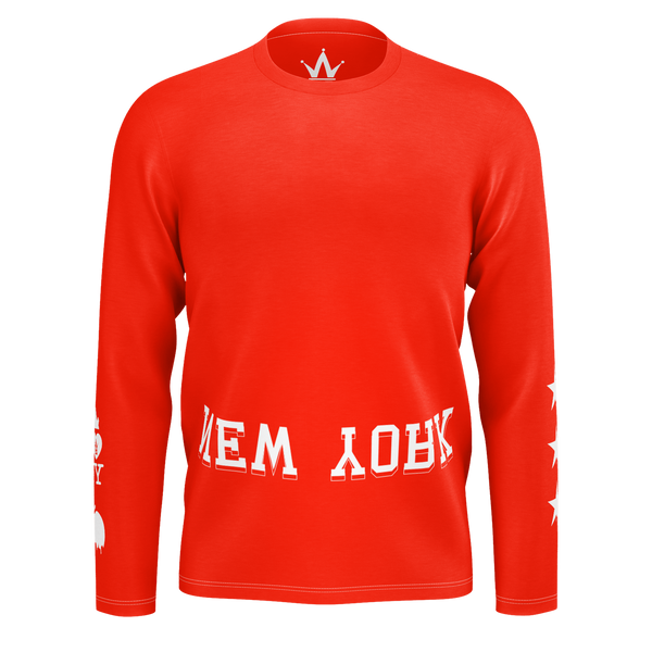 WHSS NY Red Longsleeve T-Shirt