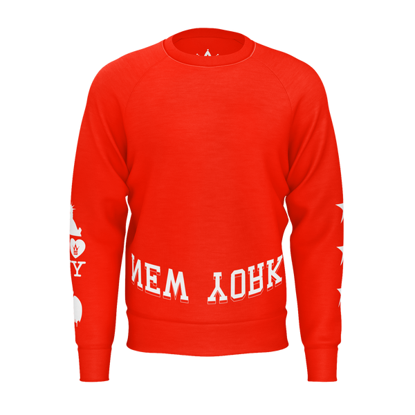 WHSS NY Longsleeve Red Sweater