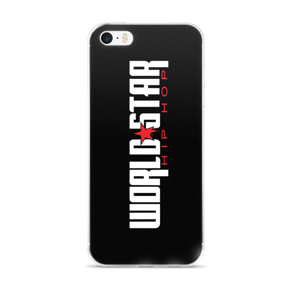 WorldStarHipHop Horizontal Logo - iPhone 5/5s/Se, 6/6s, 6/6s Plus Case