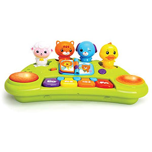 Baby Cute Animal Piano Keyboard Music Lights and Animal Sounds