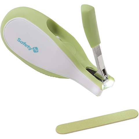 Steady Grip Infant Nail Clipper (Colors May Vary)