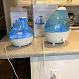 Ultrasonic Cool Mist Humidifier - Lasts Up to 16 Hours