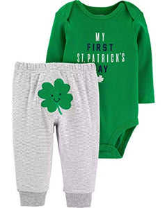 Luckiest Baby Bodysuit and Pants Set For Boys