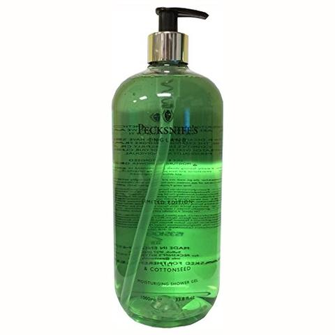Pecksniffs Lily And Cottonseed Moisturizing Shower Gel 33.8 Oz